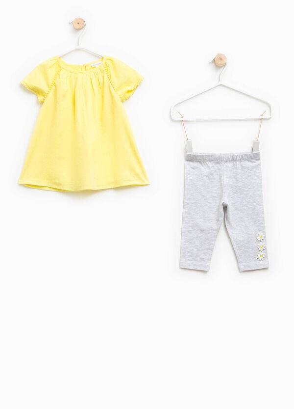 Completo vestitino e leggings | OVS