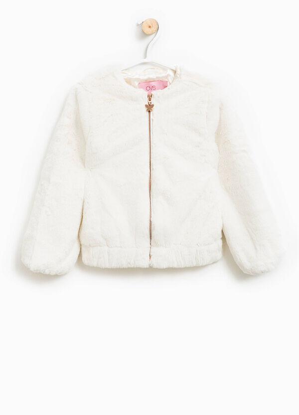Faux fur jacket | OVS