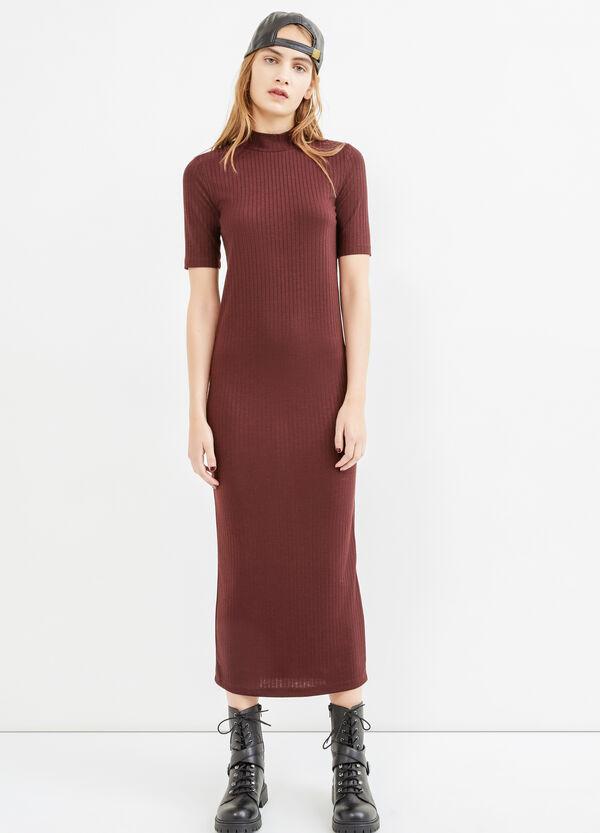 Long ribbed stretch dress   OVS