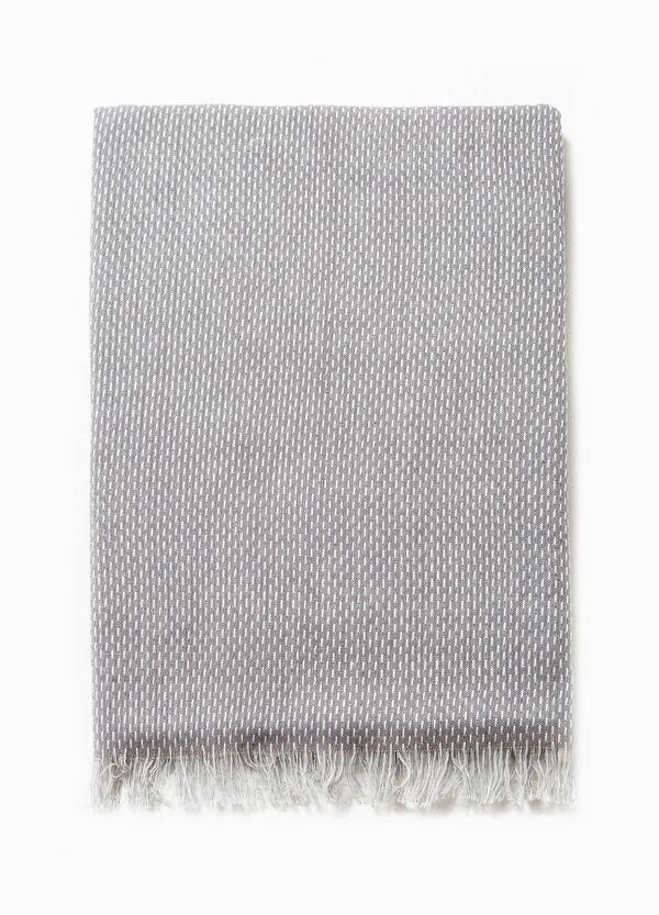 Bufanda en algodón 100% con fantasía | OVS