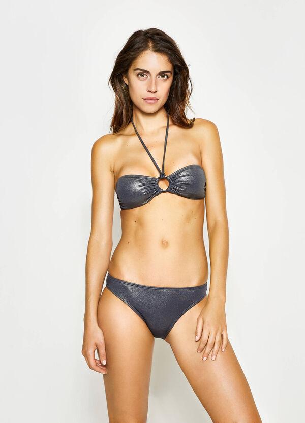 Glitter bikini with ring | OVS