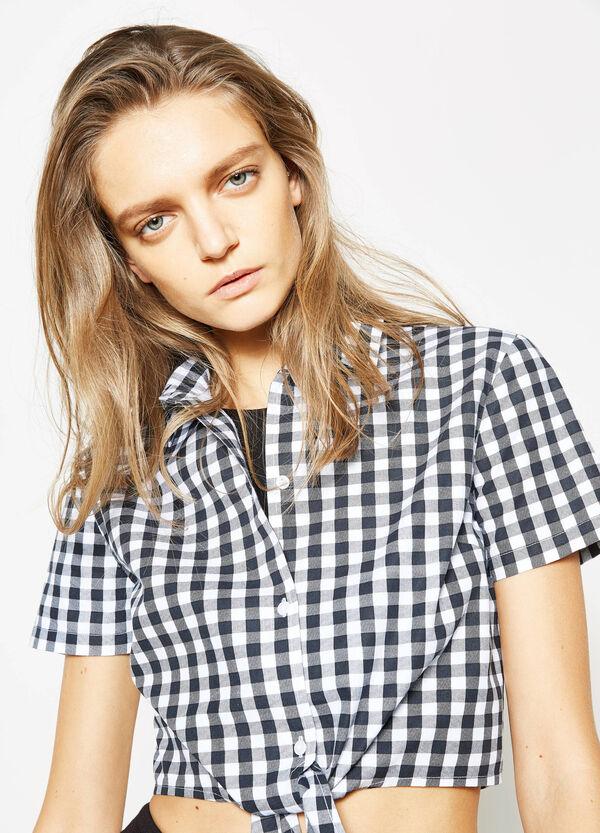 Camicia crop fantasia | OVS