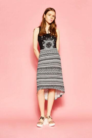 Maui and Sons ethnic longuette skirt
