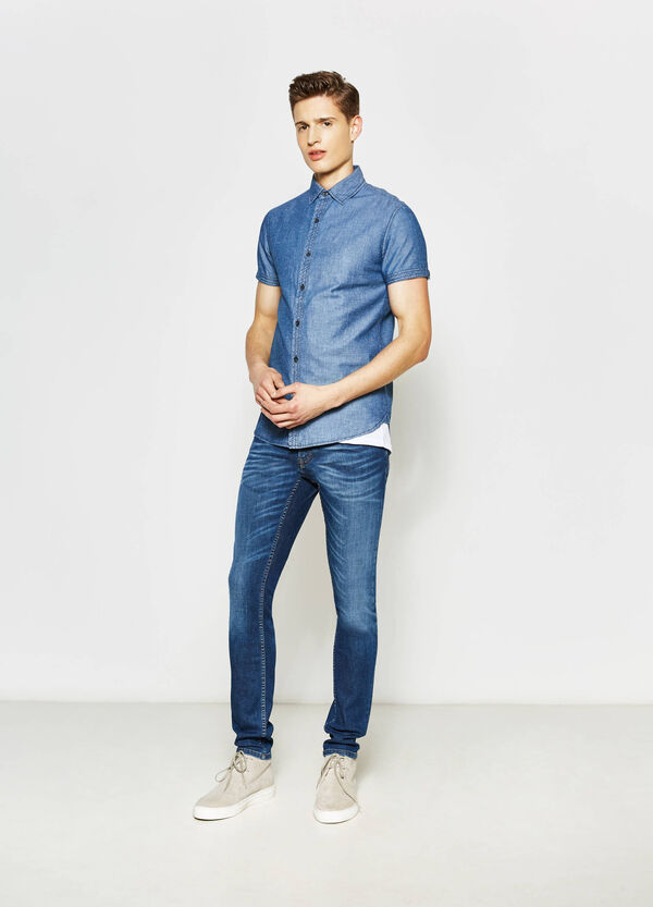 Short-sleeved casual shirt | OVS
