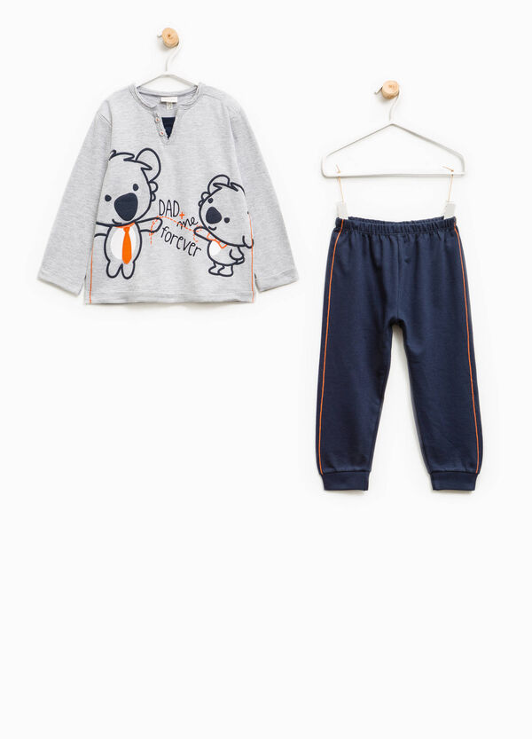 100% cotton pyjamas with koala print | OVS