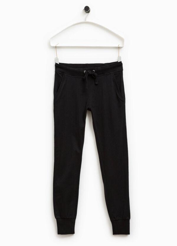 Pantalón de chándal de algodón Smart Basic | OVS