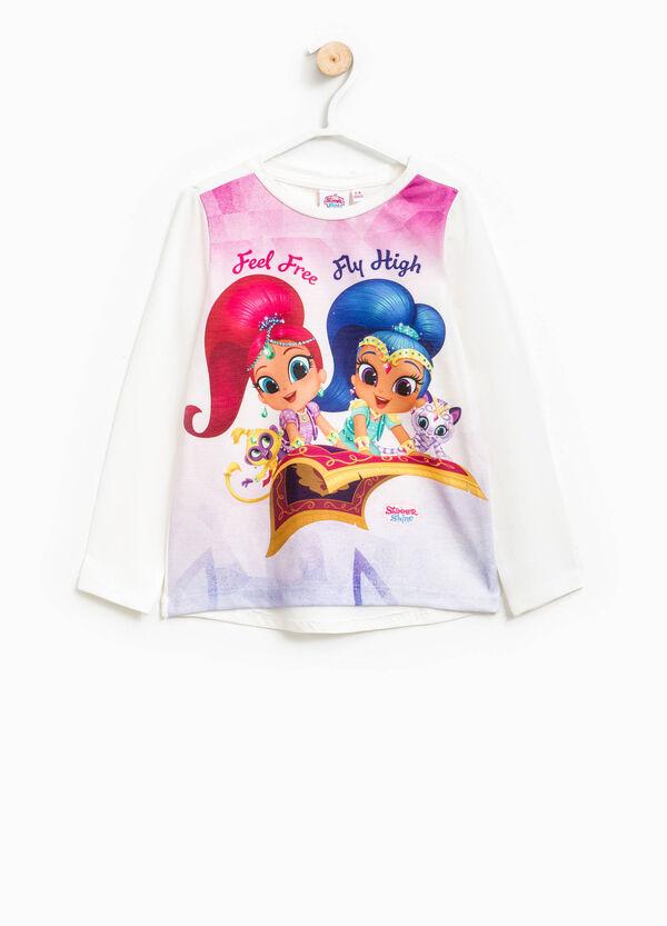 Camiseta con estampado grande de Shimmer y Shine | OVS