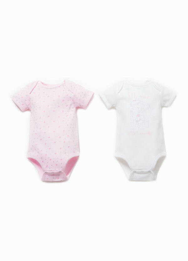 Two-pack bodysuits patterned and Dumbo print | OVS