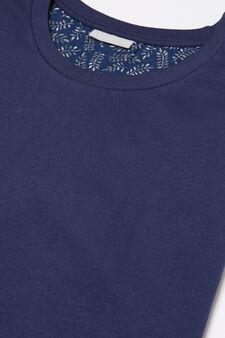 100% cotton printed pyjamas, Blue, hi-res