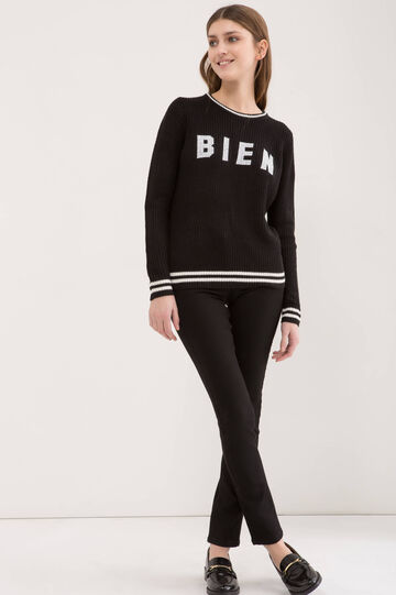 Jeans stretch slim fit, Nero, hi-res