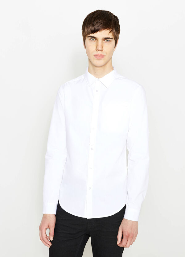 Casual shirt with rounded hem | OVS