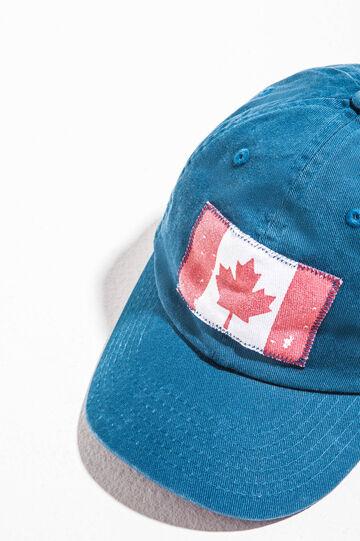 Cappello da baseball con bandiera, Blu, hi-res