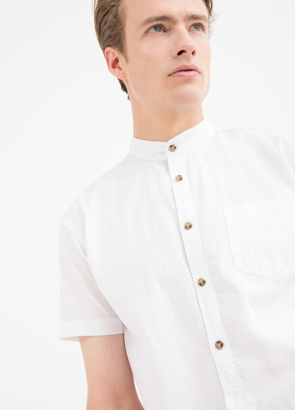 Camicia puro cotone con taschino | OVS