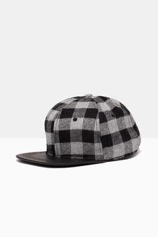 Printed cotton baseball cap, Multicolour, hi-res