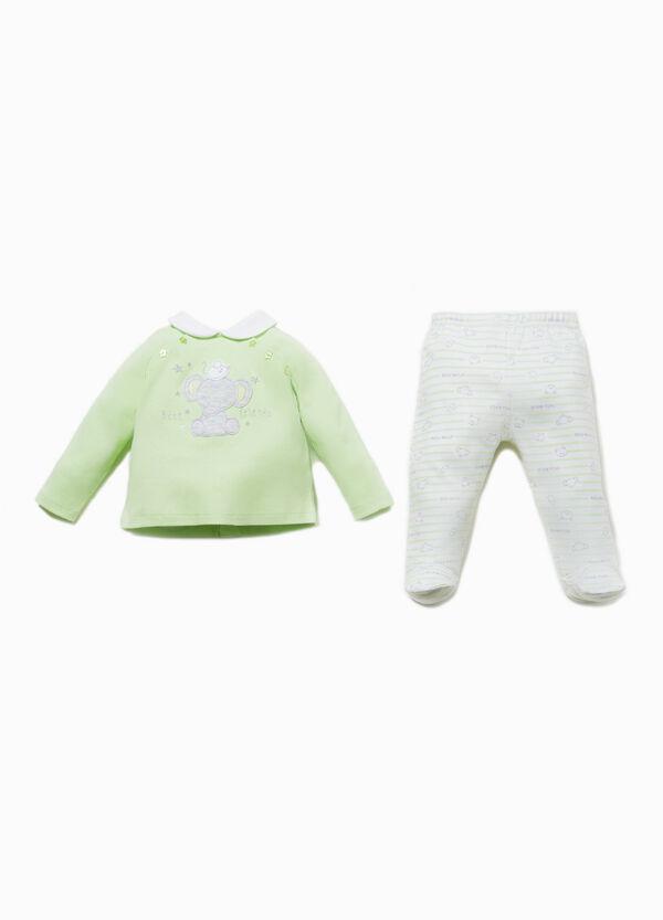 Conjunto de camiseta y pantalón de rayas | OVS
