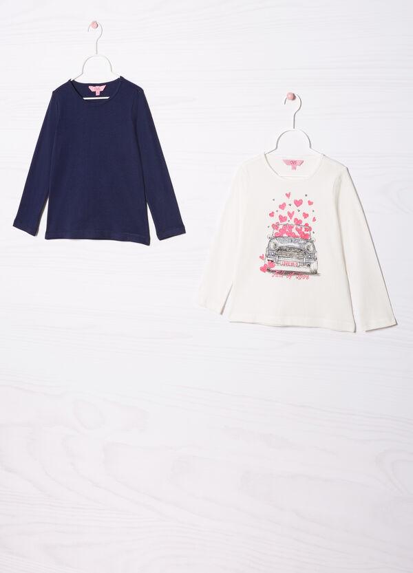 Set due t-shirt in puro cotone | OVS