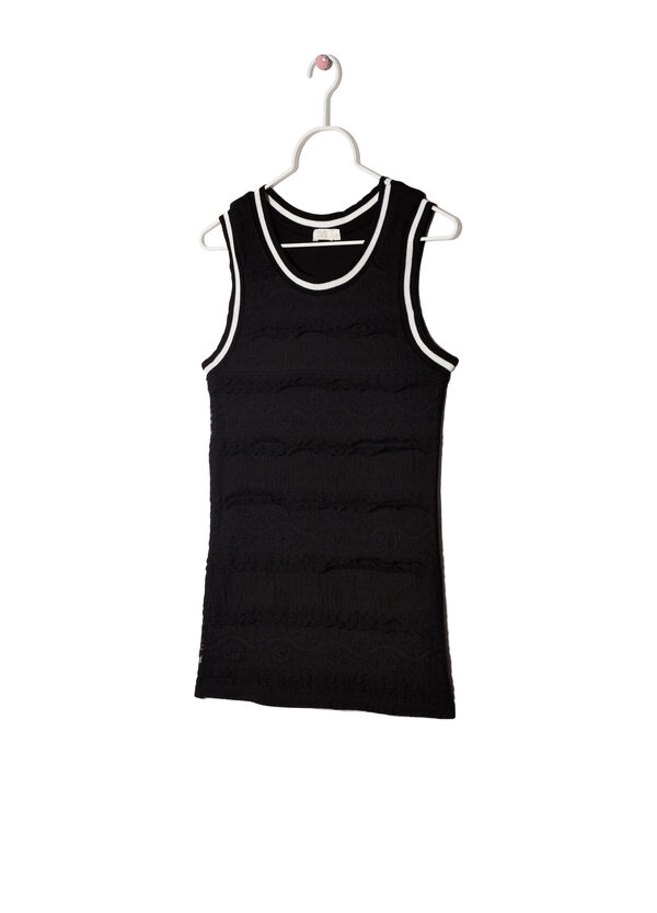 Stretch viscose vest | OVS