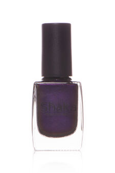 Velvet matt nail polish, Dark Purple, hi-res