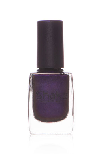 Velvet matt nail polish, Dark Purple, hi-res