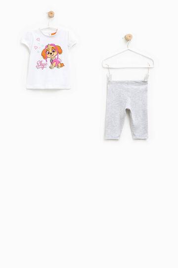 Cotton Paw Patrol outfit, White/Grey, hi-res