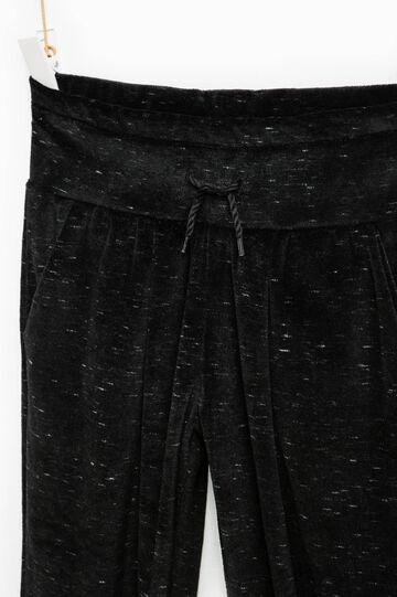 Pantaloni tuta con coulisse, Nero grafite, hi-res