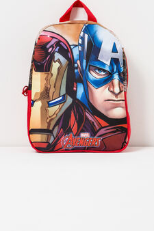 Backpack with Avengers print, Red, hi-res