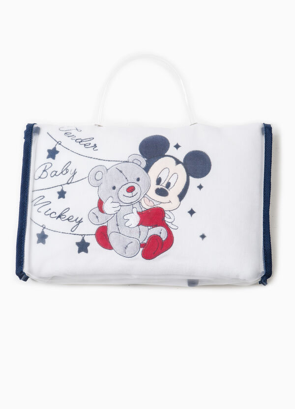 Baby Mickey Mouse cotton blanket | OVS
