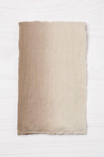 Faded creased scarf, Mud Brown, hi-res