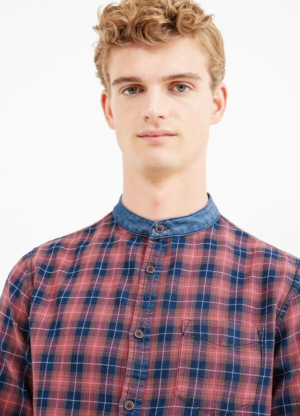 G&H check casual shirt with pocket | OVS