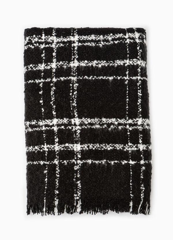 Sciarpa lavorata tricot a quadri | OVS