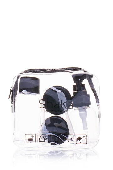 4-piece travel kit, Transparent, hi-res