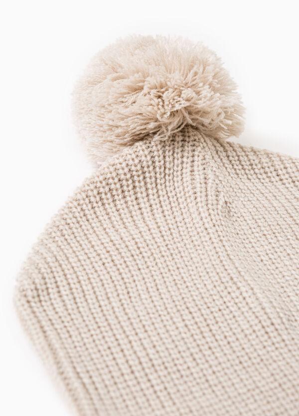 Cappello a cuffia con pon pon | OVS