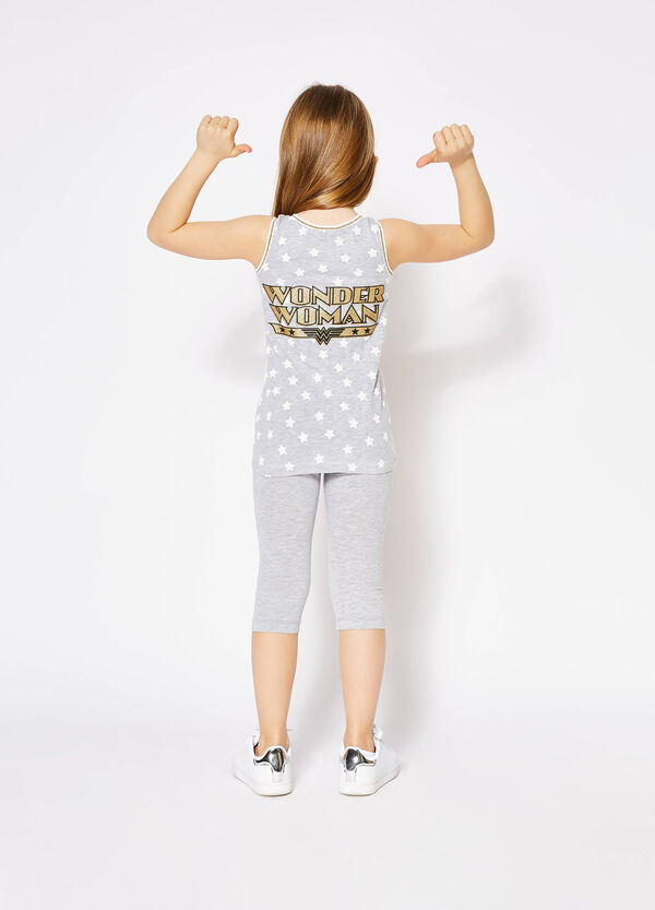 Star and sequins Wonder Woman top | OVS