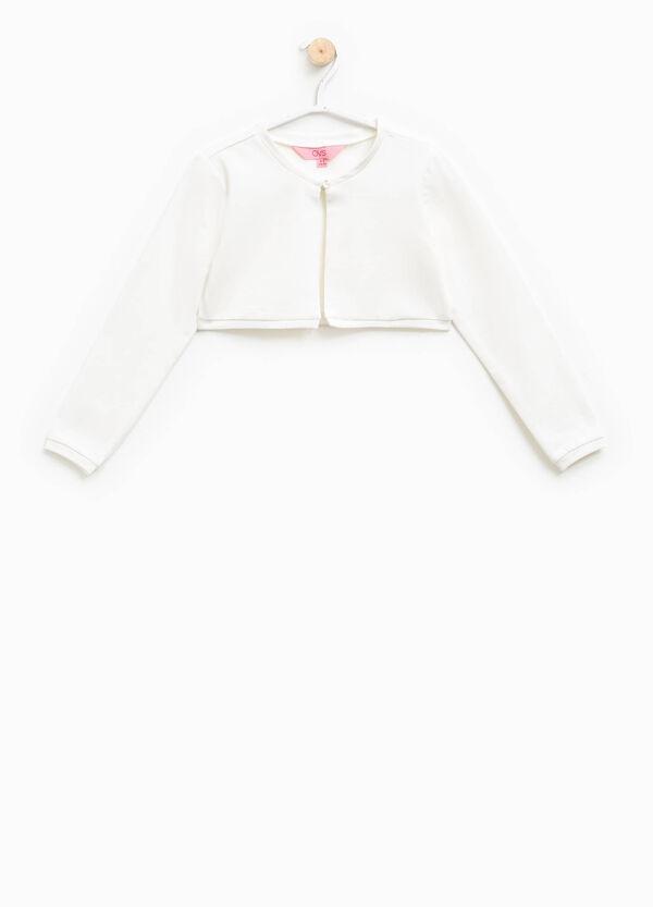 Stretch cotton shrug | OVS