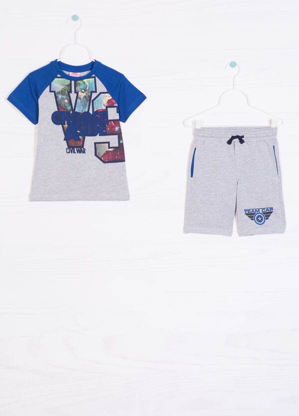 Printed set in 100% cotton   OVS