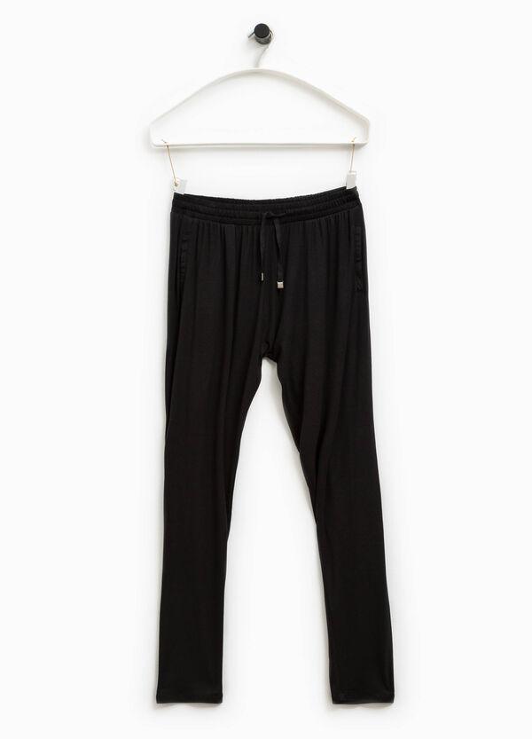 Pantalón de chándal de viscosa Smart Basic | OVS