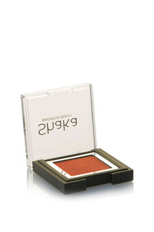 Compact eyeshadow with metal effect, Orange, hi-res