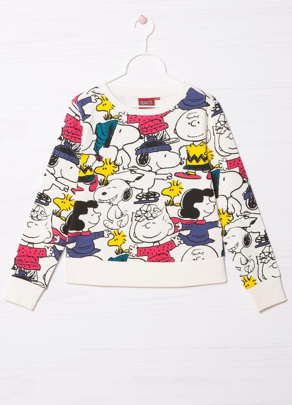 Felpa misto cotone Snoopy | OVS
