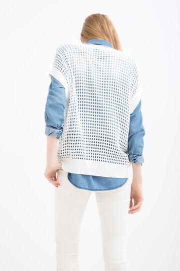 Solid colour 100% viscose pullover