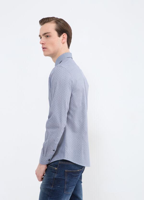 Camicia misto cotone pois | OVS
