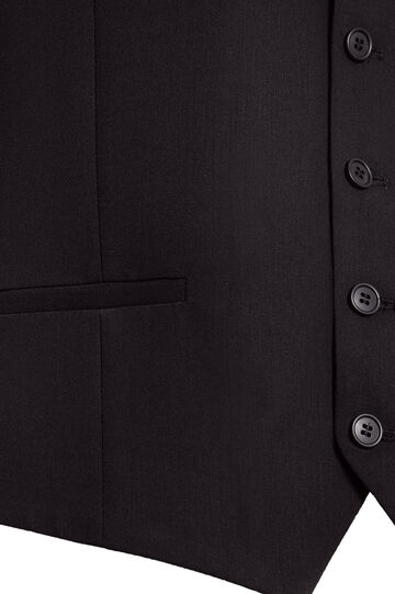 Gilet nero Jean Paul Gaultier for OVS, Nero, hi-res