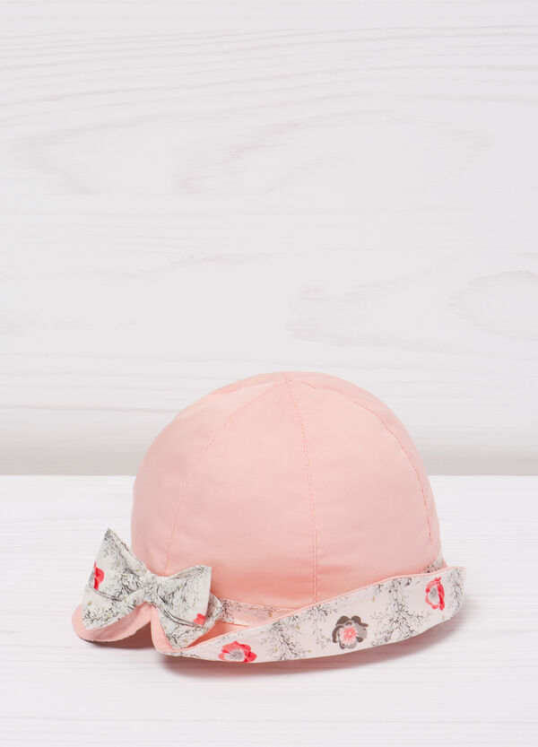 Cotton hat with bow | OVS