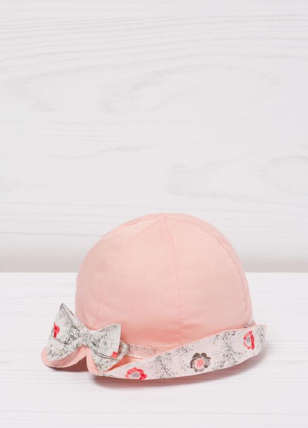 Cappello in cotone con fiocco | OVS