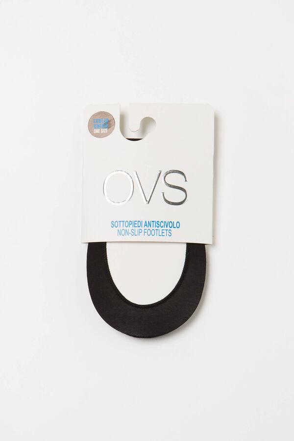 Calze salvapiede stretch tinta unita | OVS