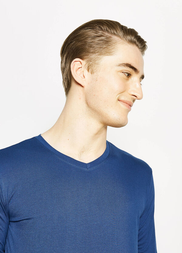 T-shirt con maniche lunghe | OVS
