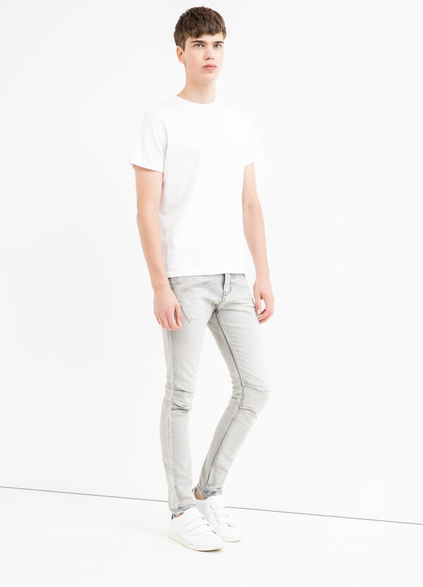 Faded-effect super skinny fit jeans | OVS