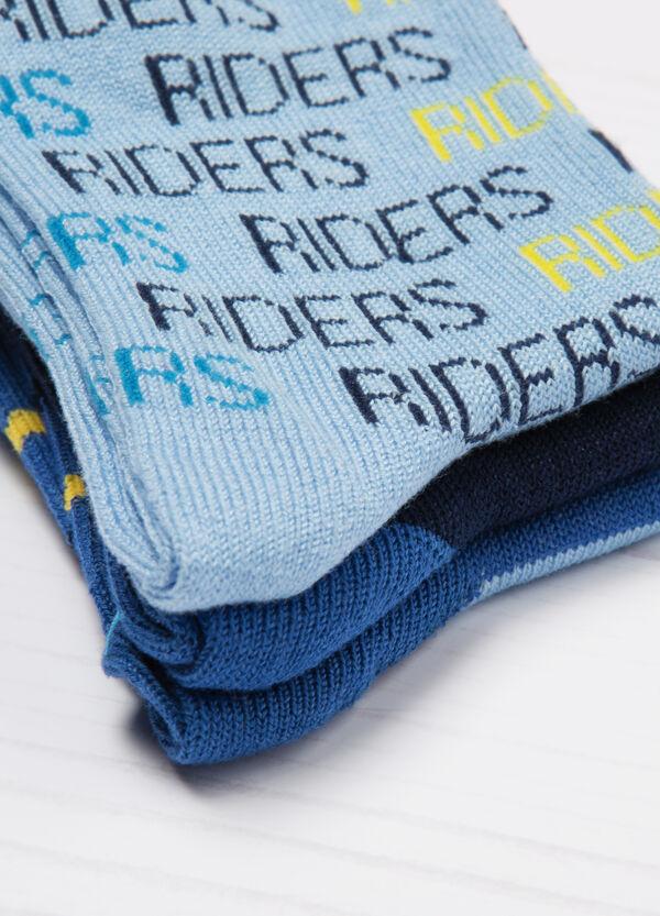 Three-pack stretch socks | OVS