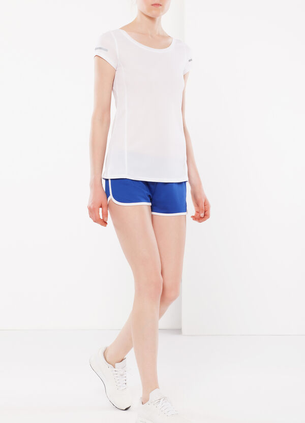 Stretch shorts.   OVS