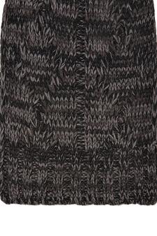 Mélange knit scarf, Ash Grey, hi-res