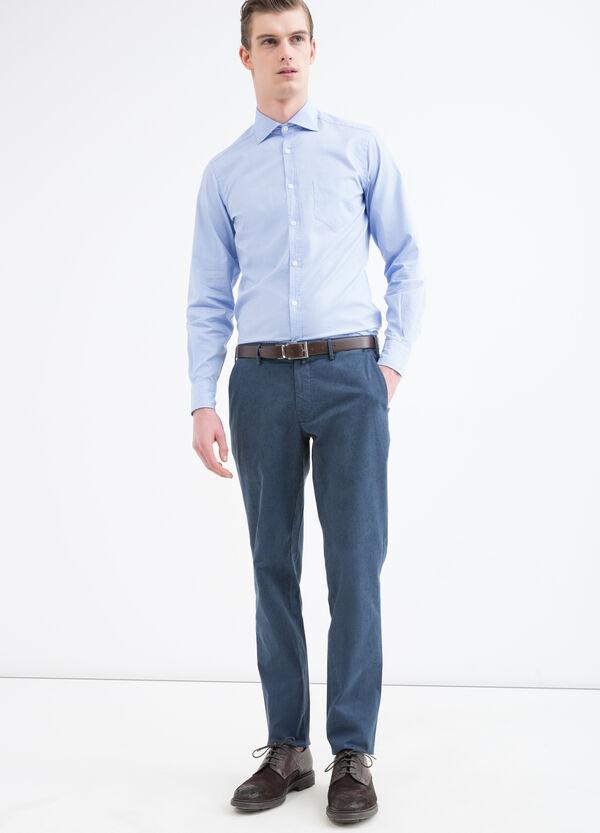 Pantaloni cotone stretch Rumford   OVS